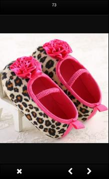 Baby Girls Shoes Design screenshot 2