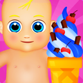 Baby Ice Cream Machine Maker Game