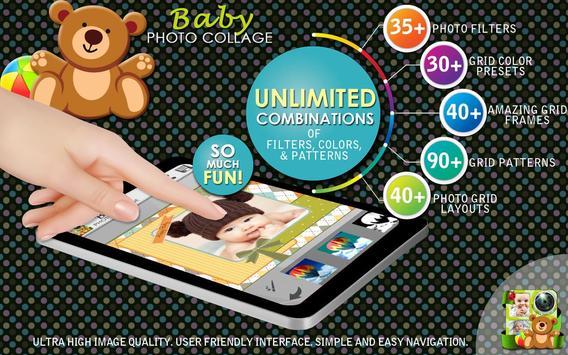 Baby Photo Collage Maker screenshot 7