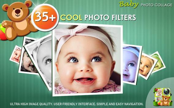 baby photo collage maker apk screenshot