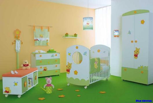 Baby Room Decoration Design poster