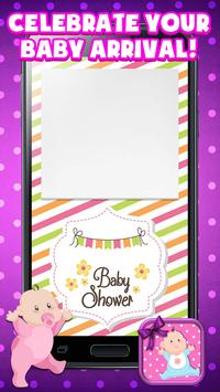 Baby shower invitation maker apk download free entertainment app baby shower invitation maker poster stopboris Choice Image