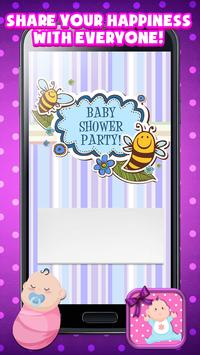 Baby shower invitation maker apk download free entertainment app baby shower invitation maker apk screenshot stopboris Choice Image