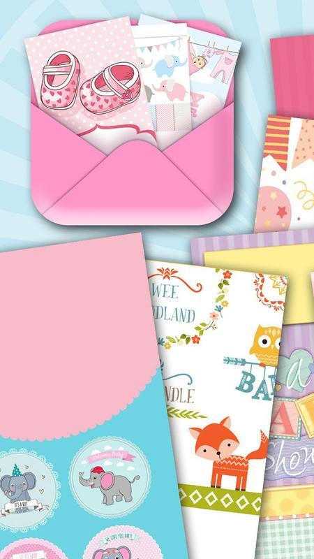 Babyparty Einladungen APK-Download - Kostenlos Fotografie APP für ...