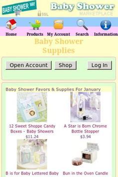 Baby Shower Favors + apk screenshot