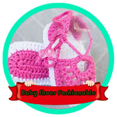 Baby Shoes Fashionable icon