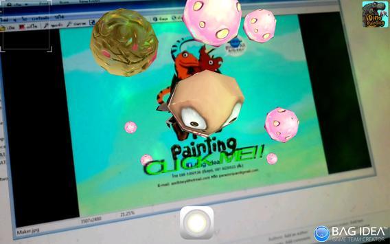 DinoPaintingAR apk screenshot