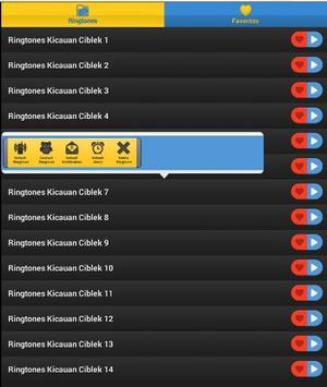 Ringtones Burung Ciblek screenshot 2