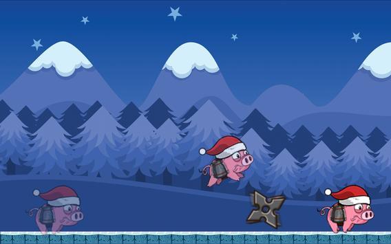 Angry Pink Piggy Boom apk screenshot