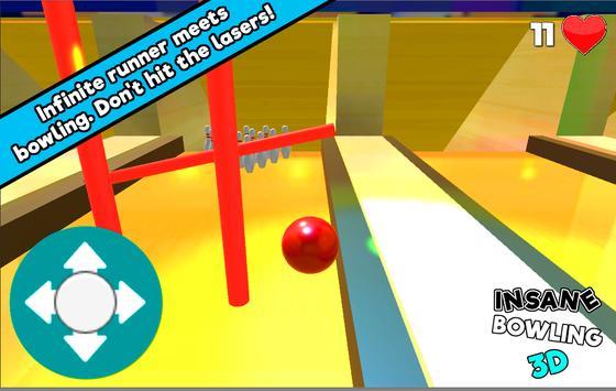 Insane Bowling 3D poster