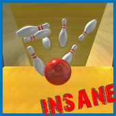 Insane Bowling 3D icon