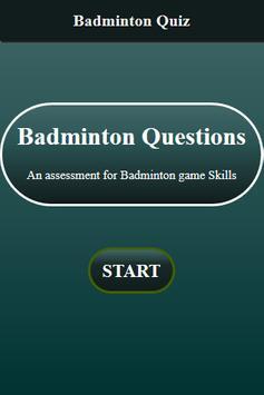 Badminton Quiz screenshot 1