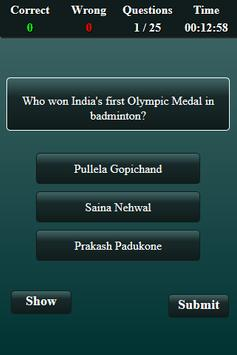 Badminton Quiz screenshot 2