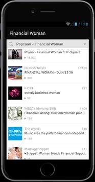 Phyno Financial Woman poster