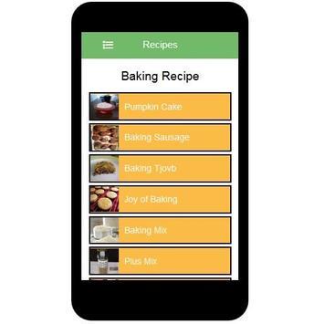 Baking Recipes screenshot 1
