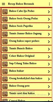 Resep Bakso Beranak screenshot 4