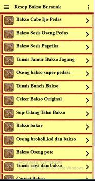 Resep Bakso Beranak screenshot 20