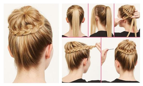 Hair Style Girl Image: Girls Easy Hairstyles Steps For Android