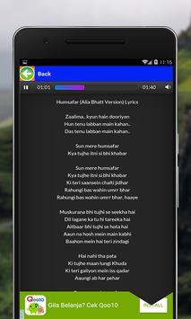Bahu Bali II Songs Lyrics apk screenshot