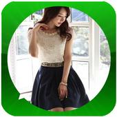 Korean Women's T-Shirt Model icon