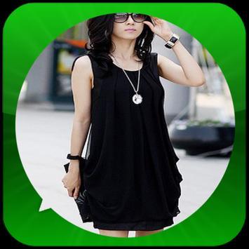 Korean Women's T-Shirt Model apk screenshot