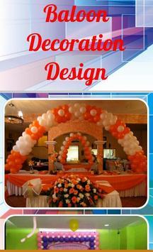 Baloon Decoration Design poster