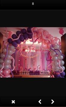 Baloon Decoration Design apk screenshot