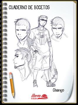 Marea Roja: Sketchbook apk screenshot