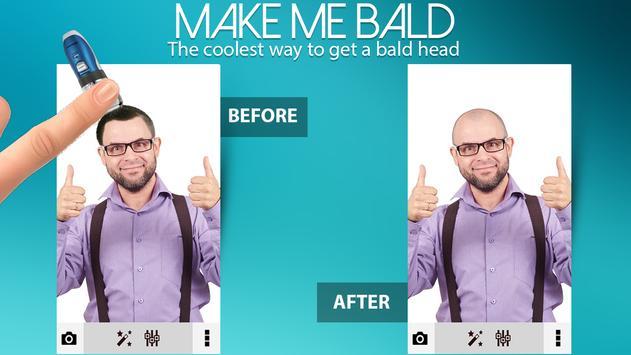 Make Me Bald Photo Editor poster