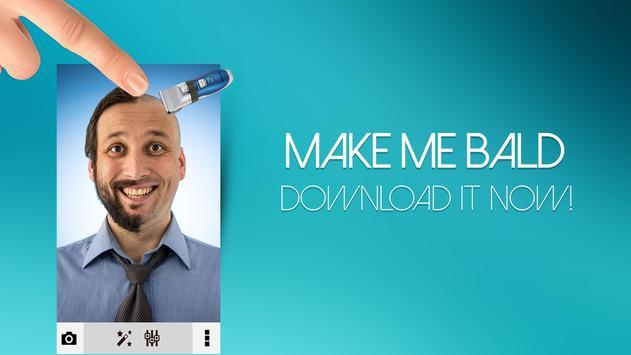 Make Me Bald Photo Editor apk screenshot