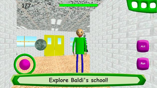 Baldi's Basics in Education постер