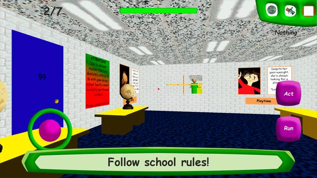 Baldi's Basics in Education تصوير الشاشة 1