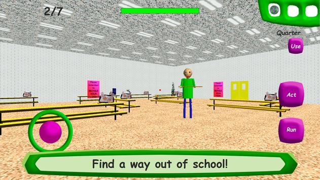 Baldi's Basics in Education captura de pantalla 3