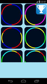 ball color wheel game apk screenshot