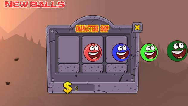Red Bouncing Ball 3 apk screenshot