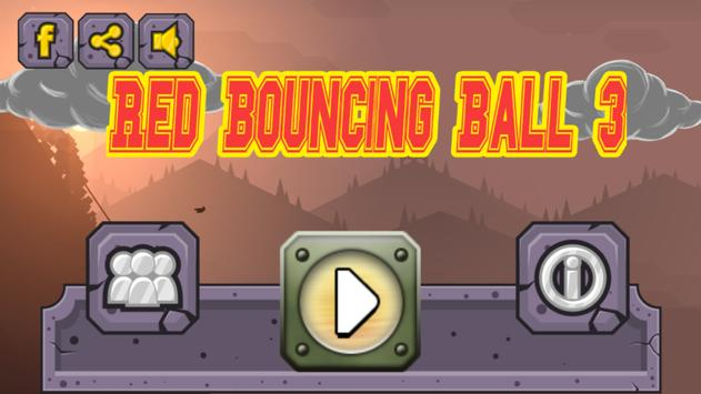 Red Bouncing Ball 3 poster