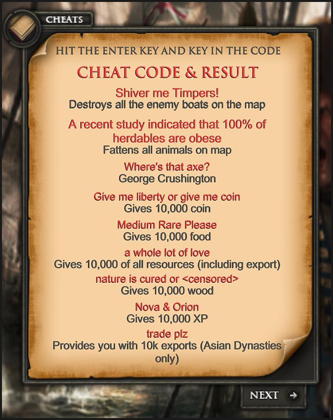All Age of Empires 3 Cheats for Android - APK Download