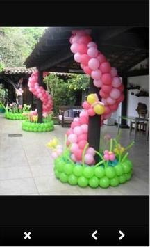 Balloon Decoration Ideas screenshot 1