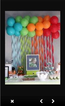 Balloon Decoration Ideas screenshot 2