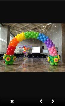 Balloon Decoration Ideas screenshot 3
