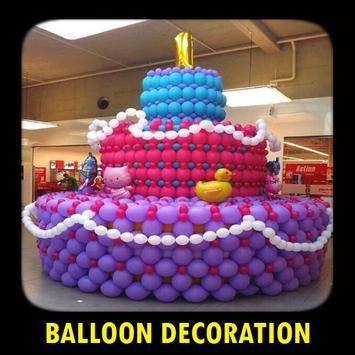 Balloon Decoration poster