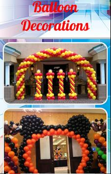 Balloon Decorations screenshot 1