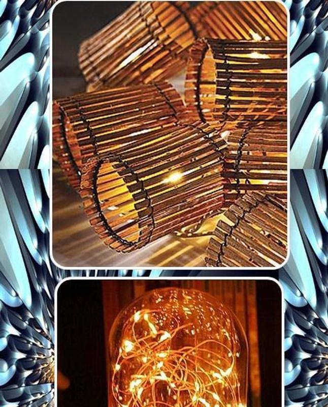 Bamboo Decorative String Lights Screenshot 3