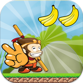 Banana King Monkey Run icon