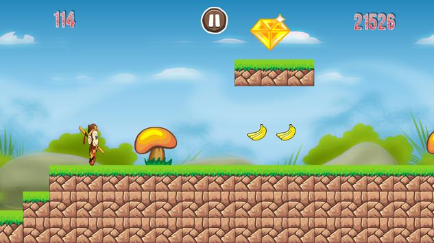 Banana King Monkey Run apk screenshot