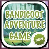 Bandicoot Adventure Game Crash icon