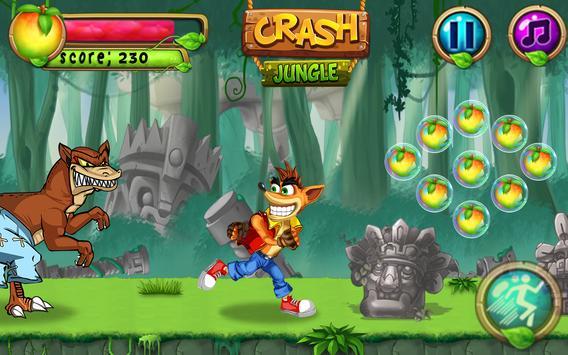 Super Bandicot Jungle Run apk screenshot