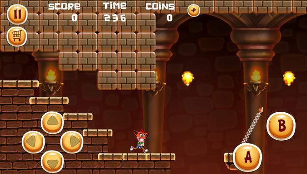 Bandicoot Adventure apk screenshot