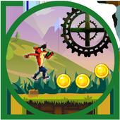 bandicoot adventure run icon