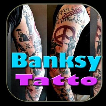 Banksy Tatto Design Ideas poster